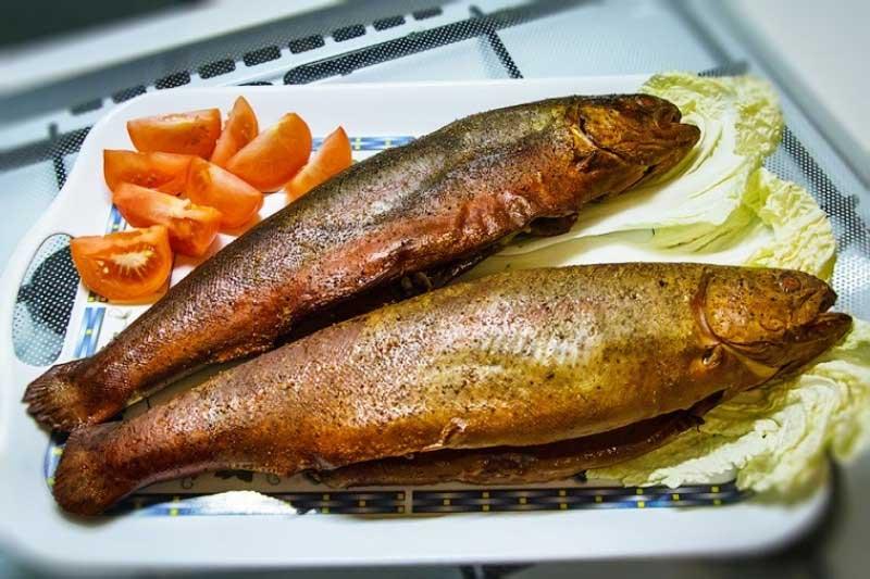 Как хранить копченую рыбу